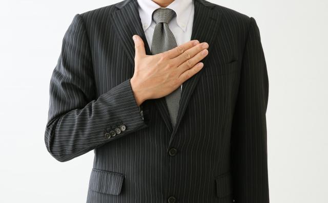 スーツ 男子