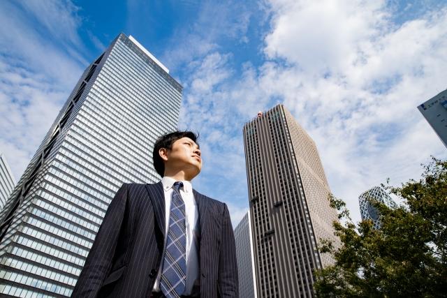 男性 ビジネス街